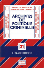 Archives de politique criminelle 2009/1