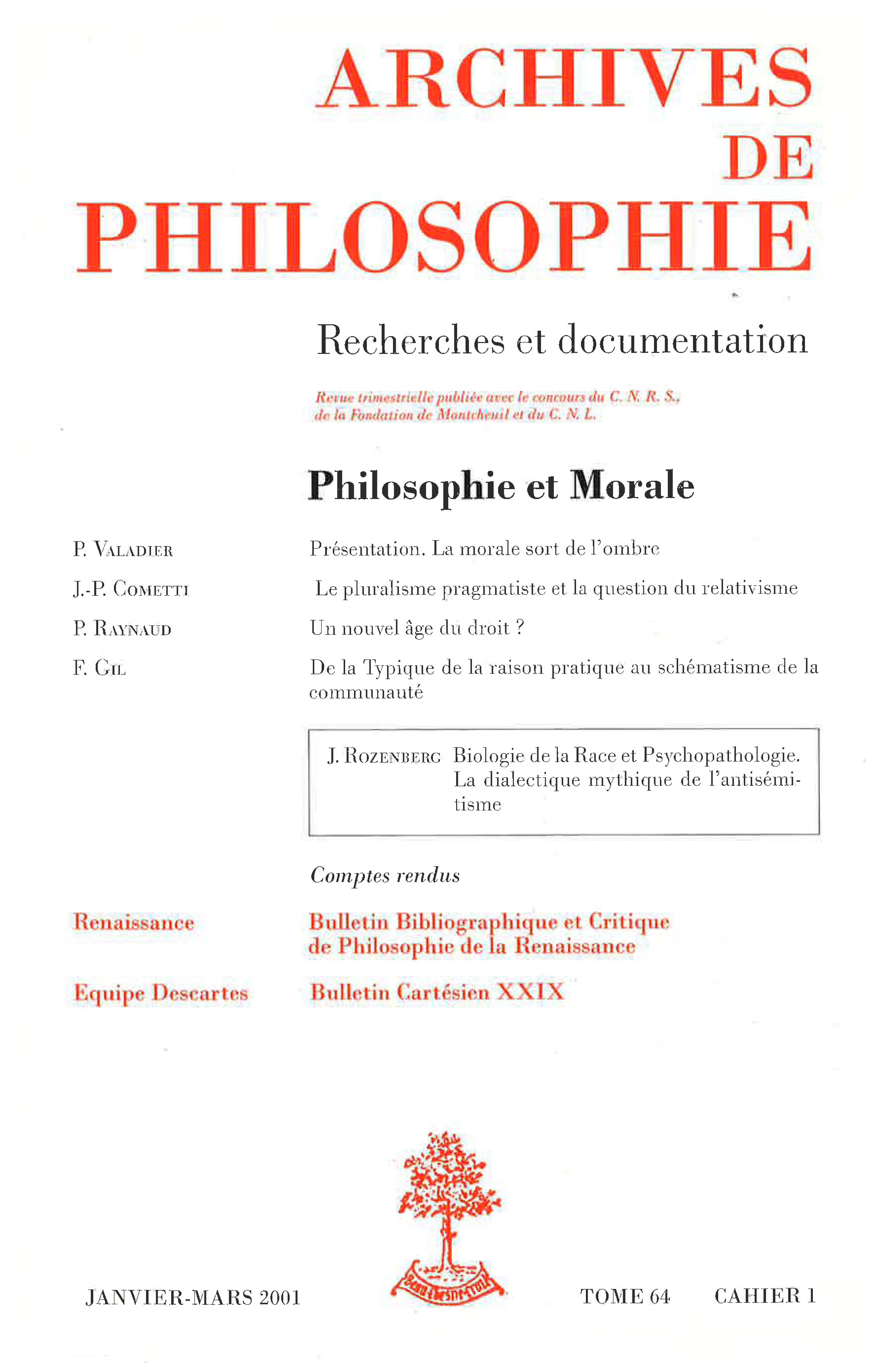 Et La Bulletin Philosophie Critique Bibliographique De wvN80nymO