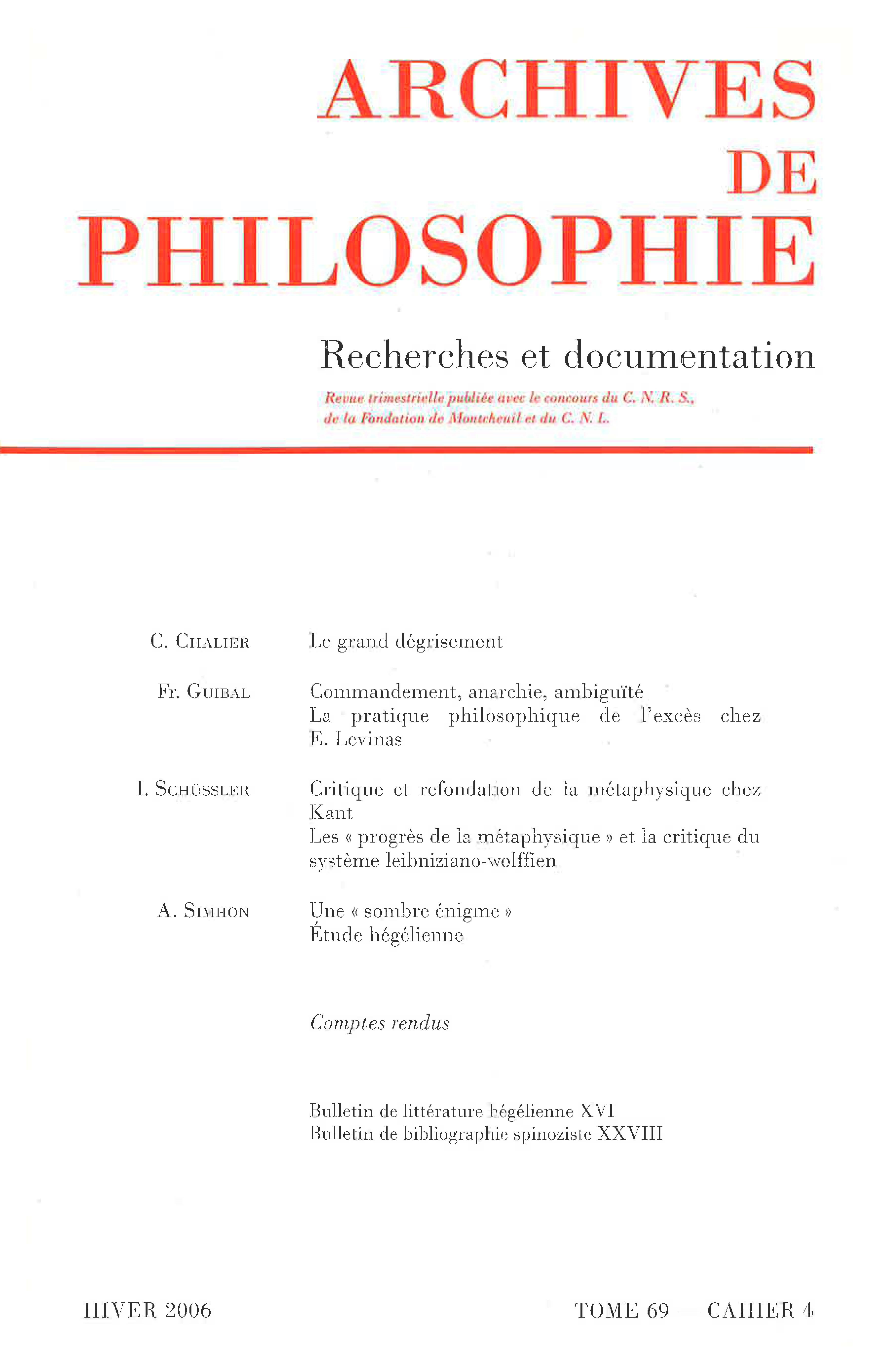 La religion : Cicéron, Spinoza, Lucrèce, Bergson, Hegel (Hors collection) (French Edition)