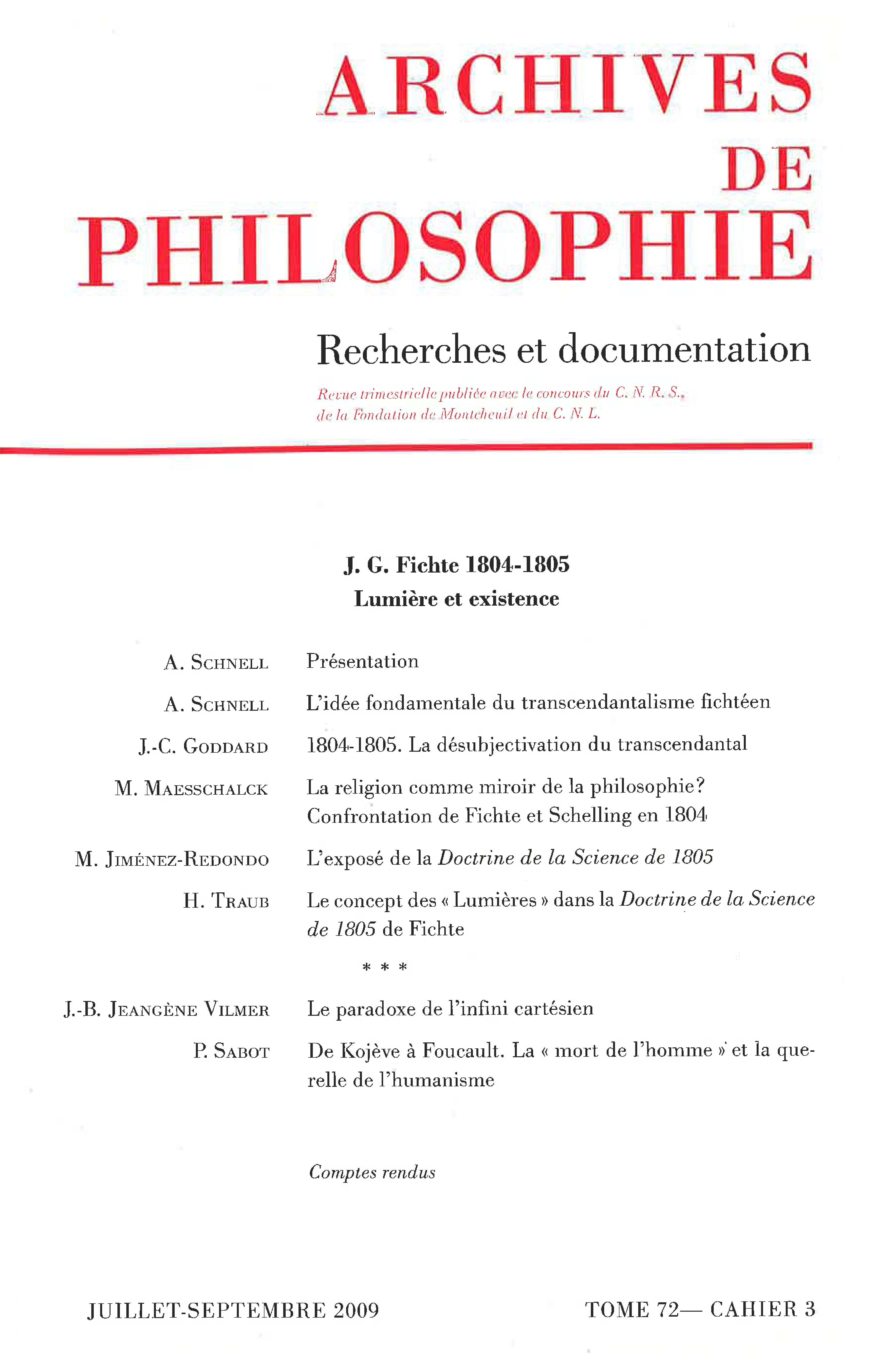 Le Paradoxe De Linfini Cartésien Cairninfo