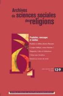 couverture de Archives de sciences sociales des religions 2007/3