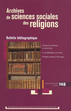 Archives de sciences sociales des religions 2009/4