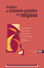 Archives de sciences sociales des religions 2010/1