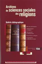 Archives de sciences sociales des religions 2011/4