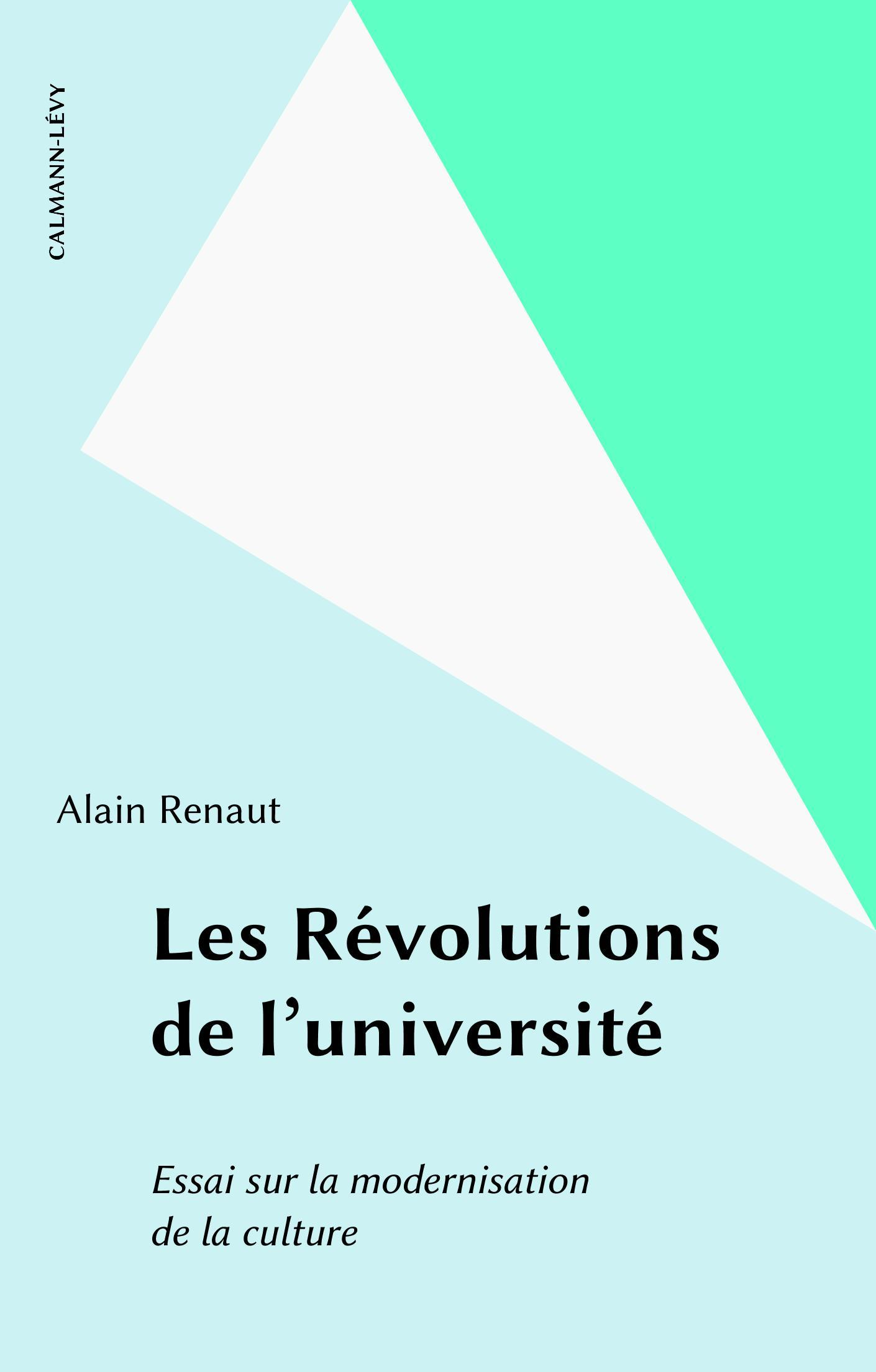 I - L'invention des universités