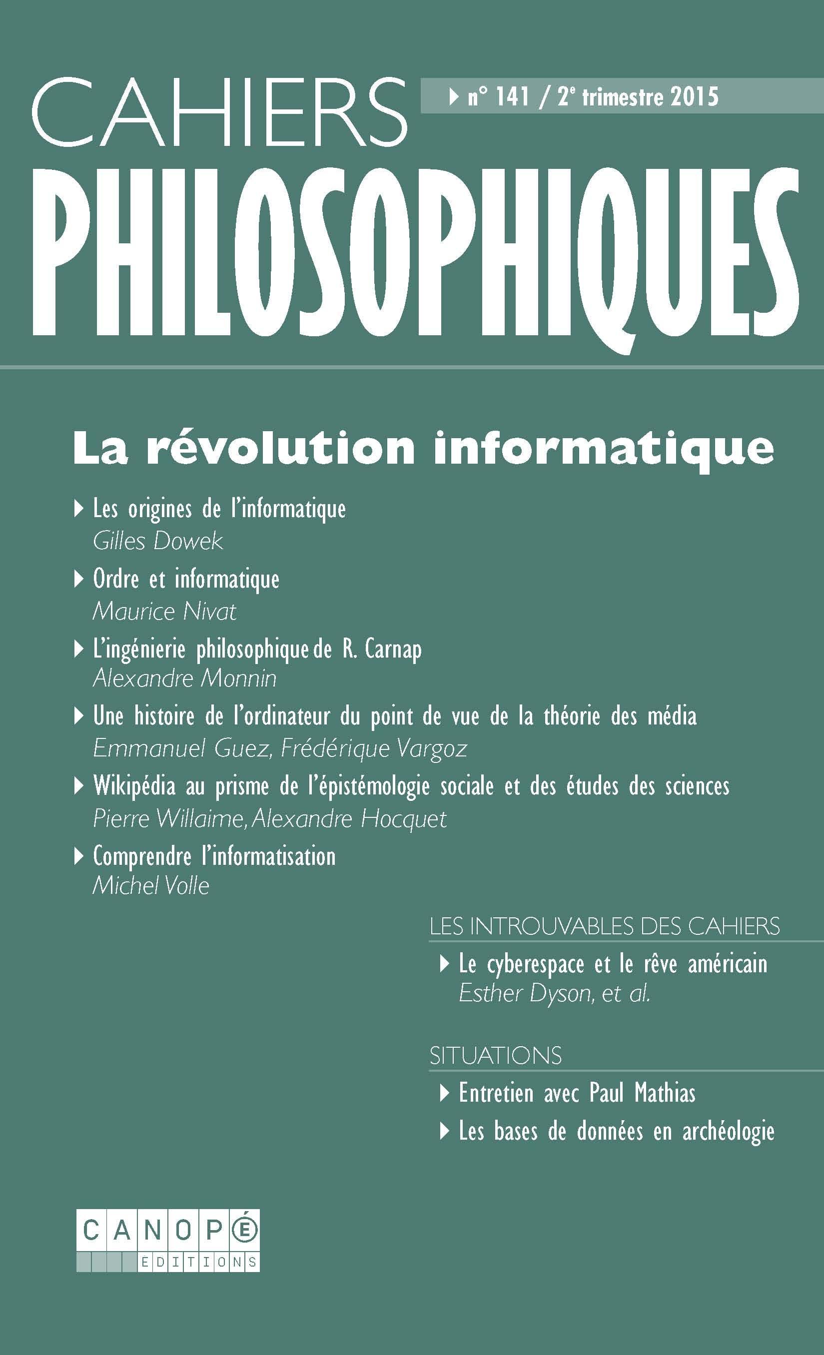 bf04a4678b3be0 Wikipédia au prisme de l'épistémologie sociale et des études des ...