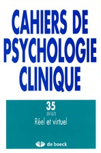 Cahiers de psychologie clinique 2010/2