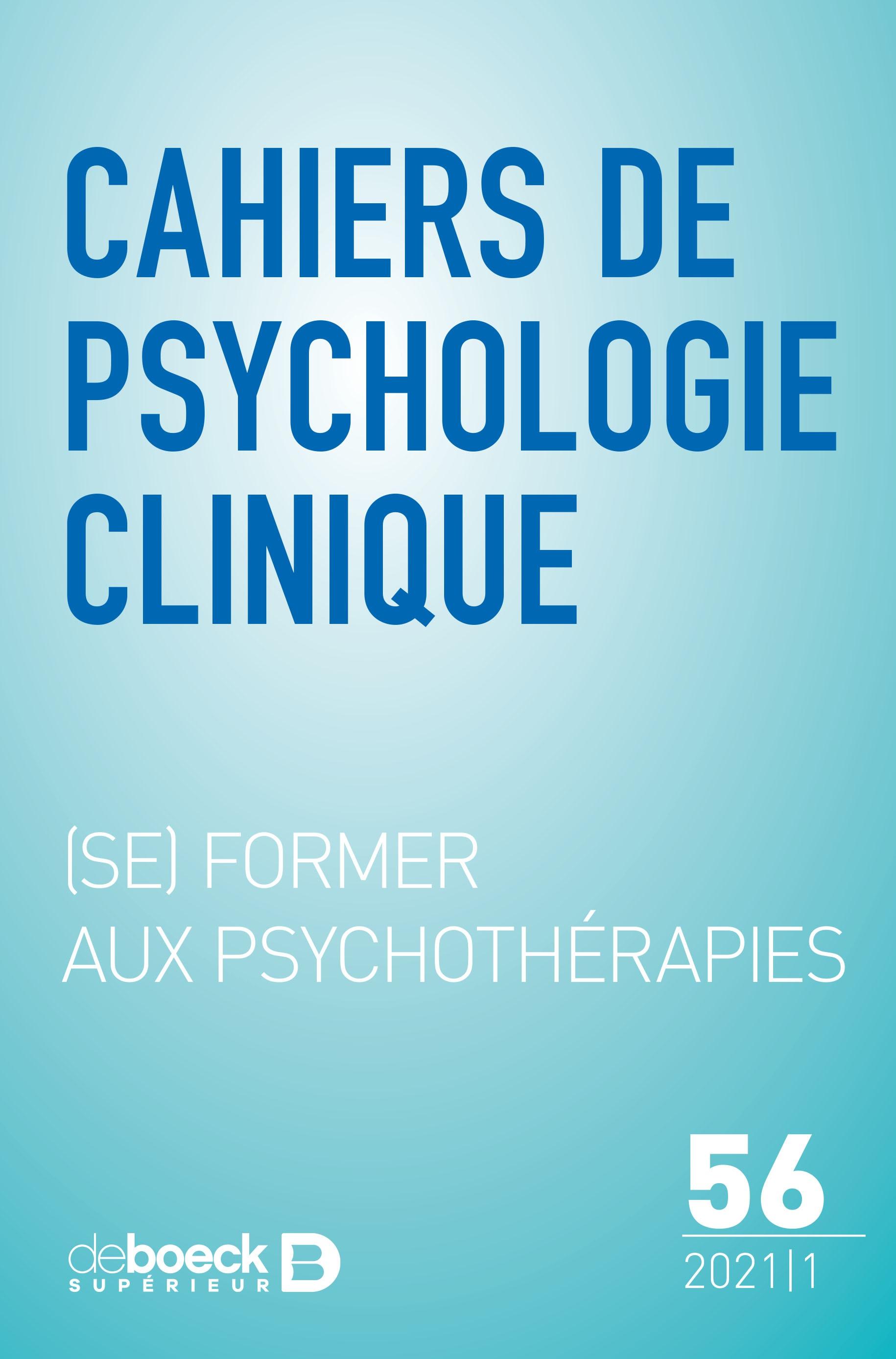 (Se) former aux psychothérapies