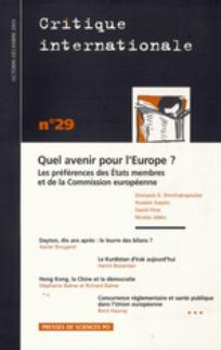 Critique internationale 2005/4
