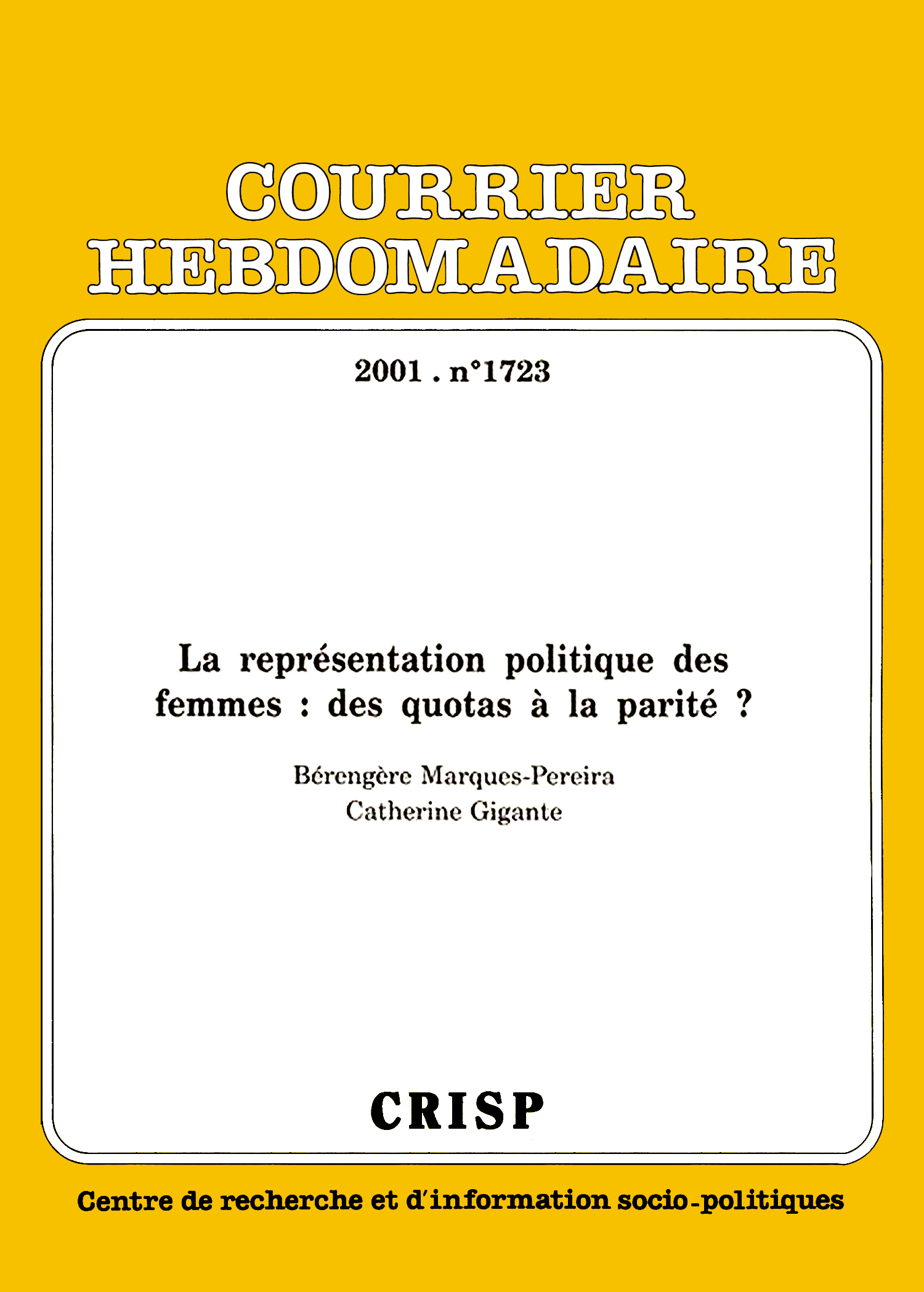 La représentation politique des femmes a7e9e15c87b