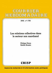 Les Relations Collectives Dans Le Secteur Non Marchand Cairn Info