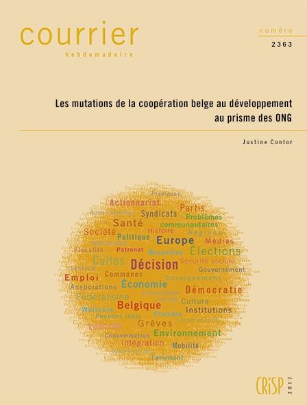 Les mutations de la coopération belge au développement au