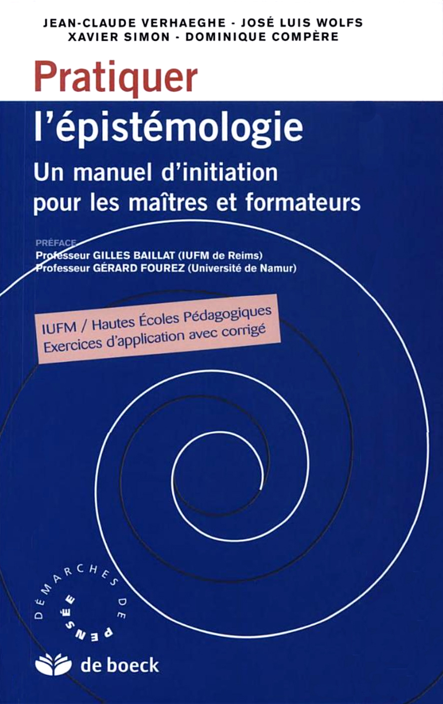 Conceptions Epistemologiques Et Recherche Scientifique Cairn Info