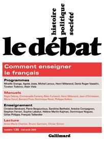 Remarques sur l'enseignement actuel de la langue française |