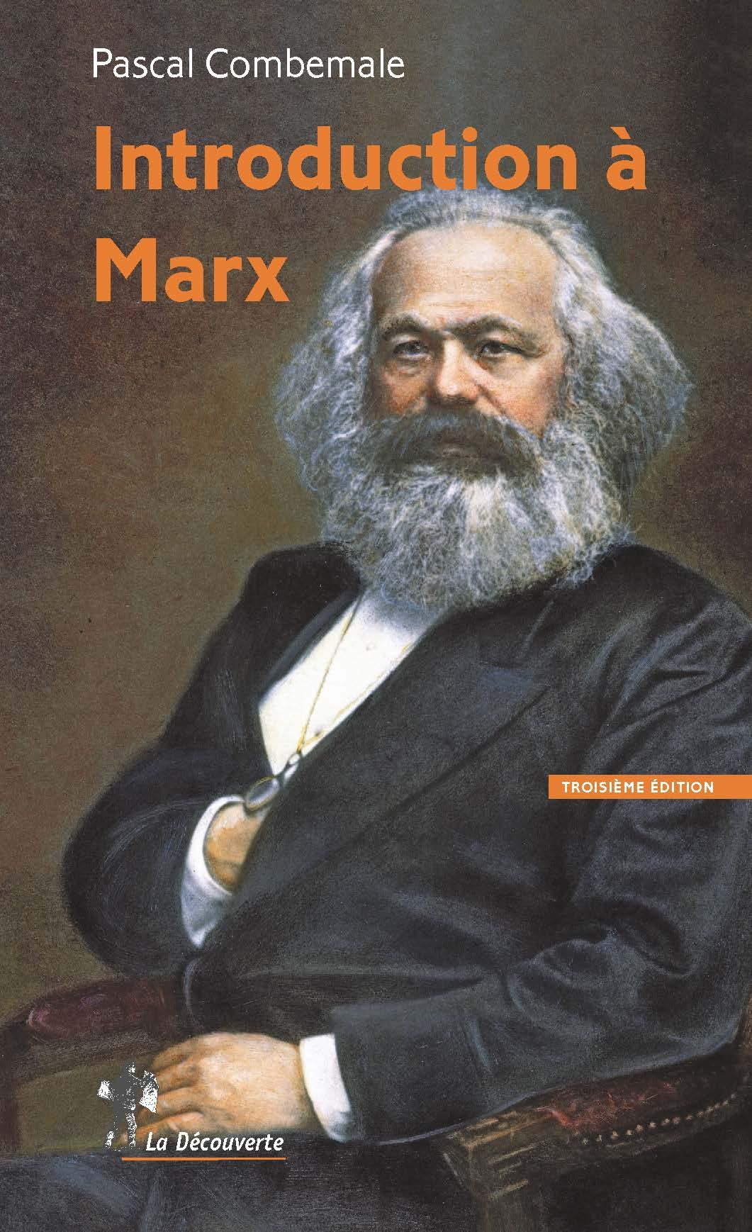 Introduction à Marx - Pascal Combemale | Cairn.info