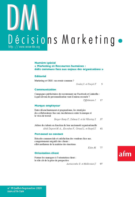 Marketing et GRH : un avenir commun ?