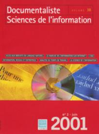 Documentaliste-Sciences de l'Information 2001/2