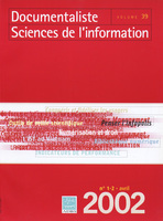 Documentaliste-Sciences de l'Information 2002/1-2