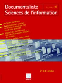 Documentaliste-Sciences de l'Information 2006/3-4