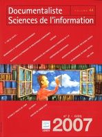 Documentaliste-Sciences de l'Information 2007/2
