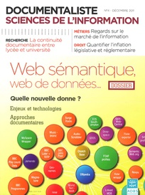 Documentaliste-Sciences de l'Information 2011/4