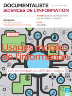 Documentaliste-Sciences de l'Information 2012/3