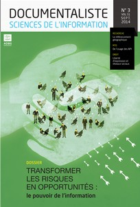 couverture de Documentaliste-Sciences de l'Information