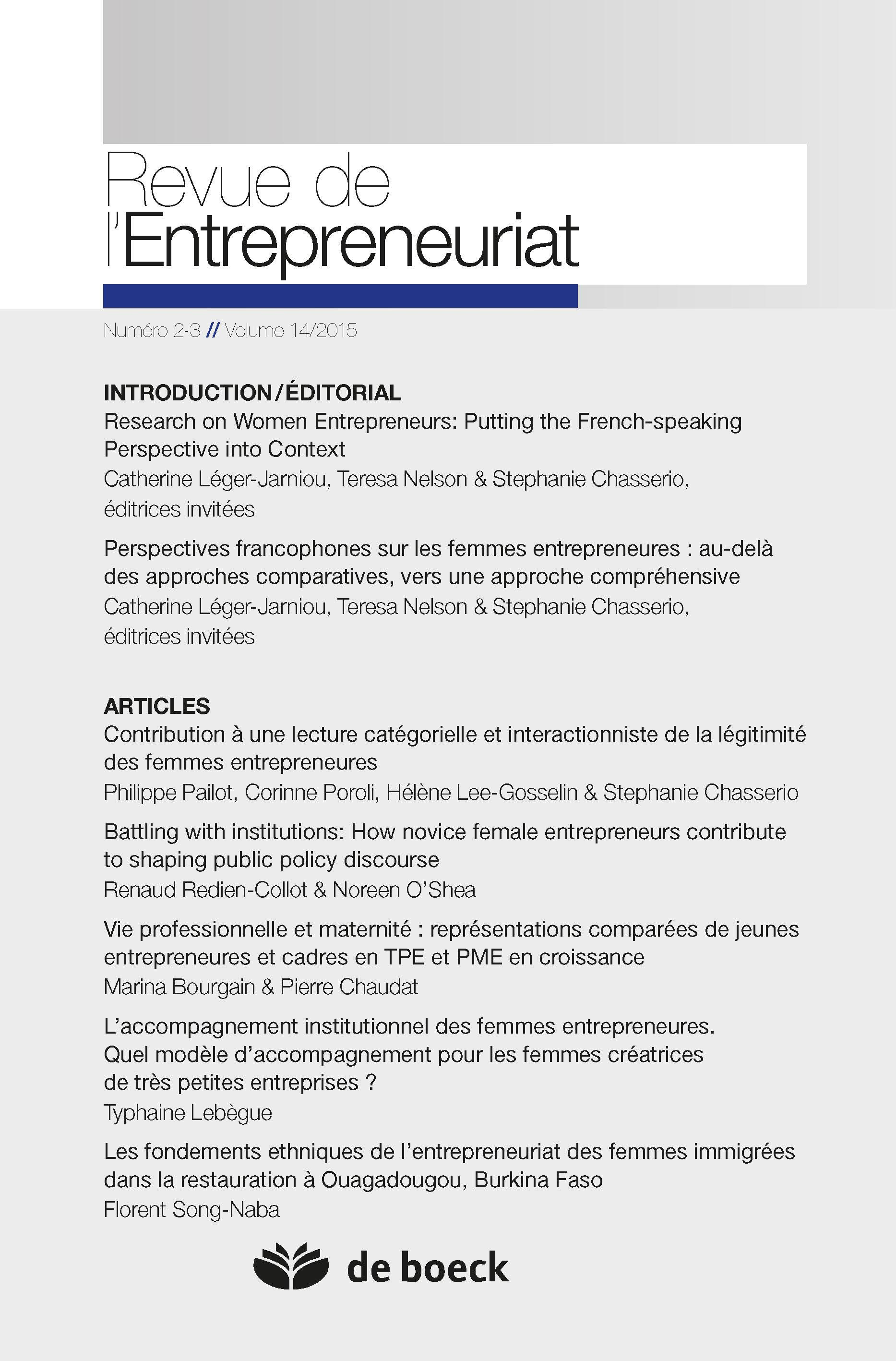 Women's Entrepreneurship and Economics: New Perspectives, Practices, and Policies