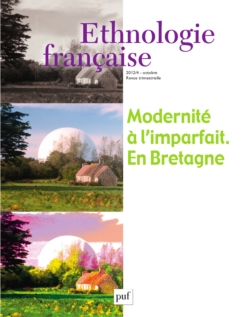 La Bretagne depuis trente ans : le regard d'une ethnologue
