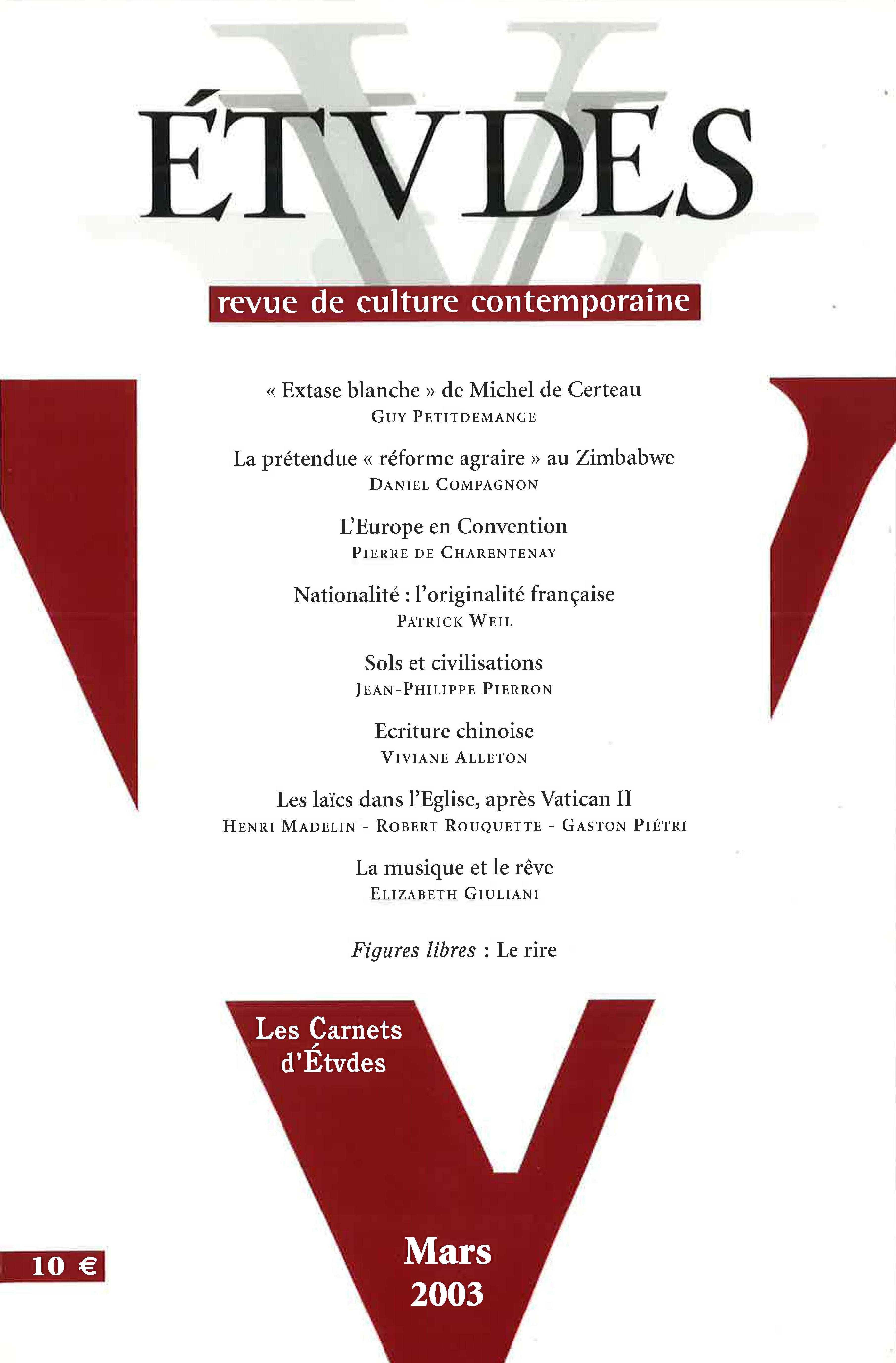 Nationalité Loriginalité Française Cairninfo