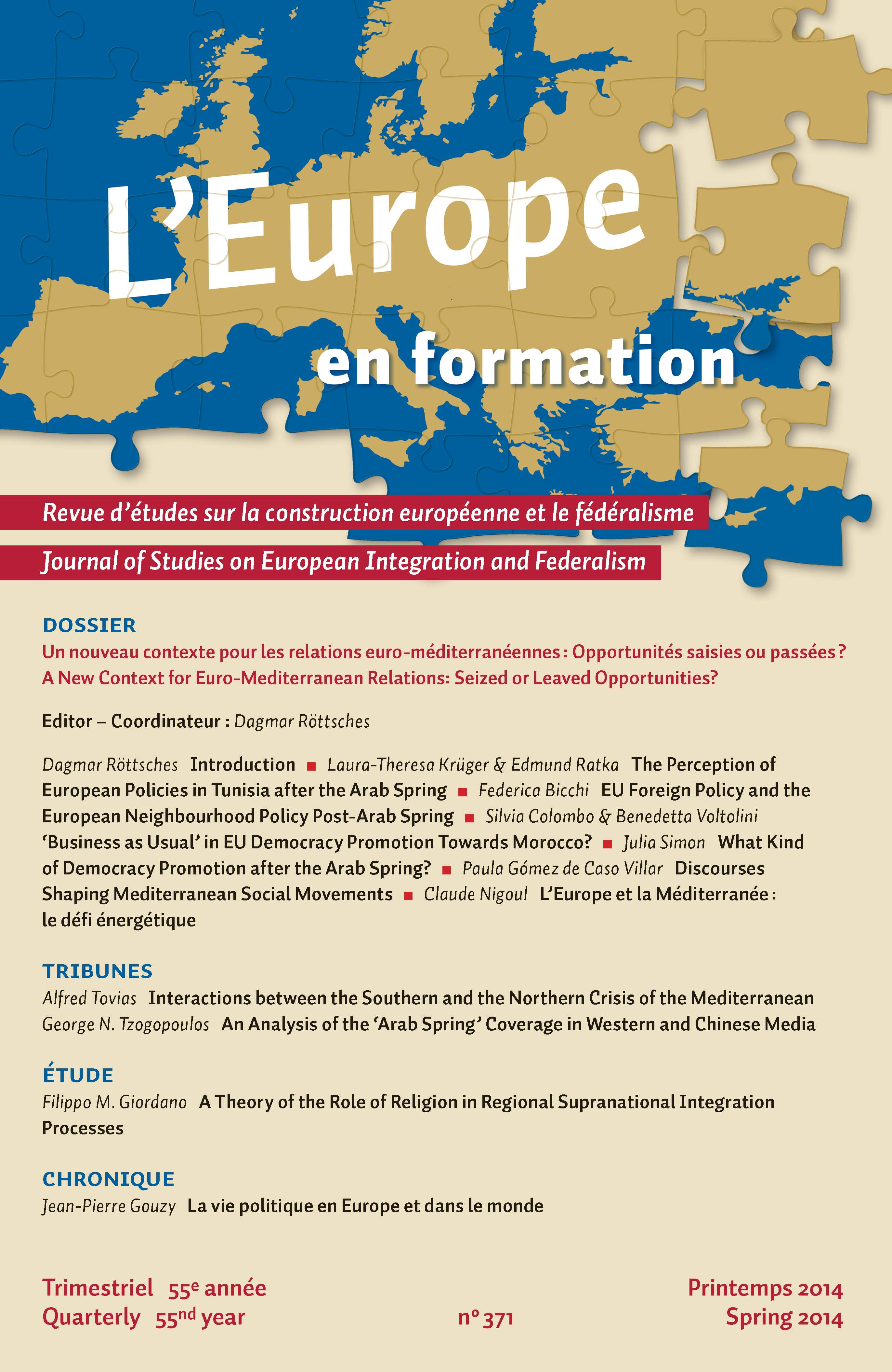 Lost In Transition Eu Foreign Policy And The European