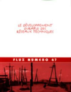 Sustainable Development of Technical Networks