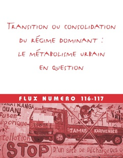 Transition or consolidation of the dominant regime: The urban metabolism in question