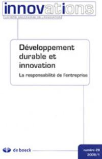 Sustainable Development and Innovation