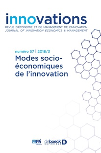 Socio-economic modes of innovation