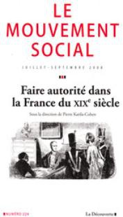 Having Authority in 19th Century France