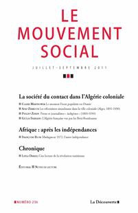 The Contact Society in Colonial Algeria