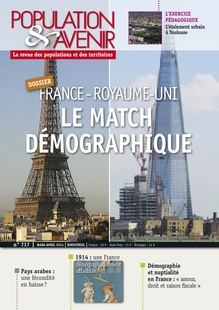 Are France and the UK Demographic Rivals?