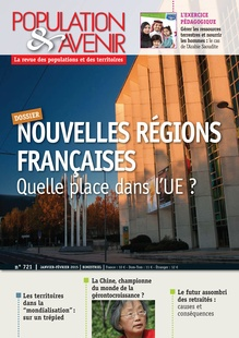 What is the place of new French regions in the European Union