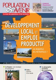 Local Development and Productive Employment: Do the Metropolises Have a Monopoly?