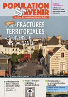 Territorial fracture lines in France