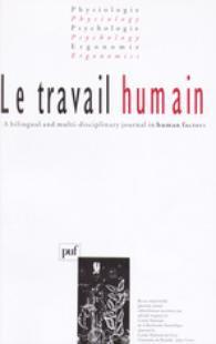 Le Travail Humain 2003/2