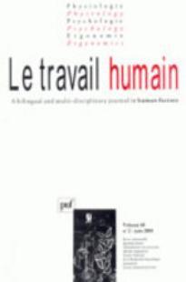 Le Travail Humain 2005/2