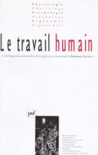 Le Travail Humain 2008/1