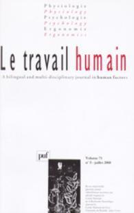 Le Travail Humain 2008/3