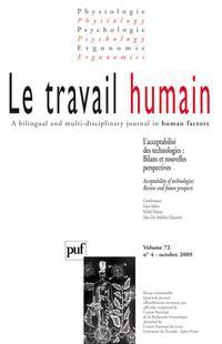 Le Travail Humain 2009/4