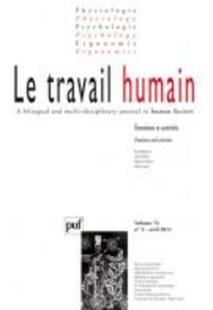 Le Travail Humain 2011/2