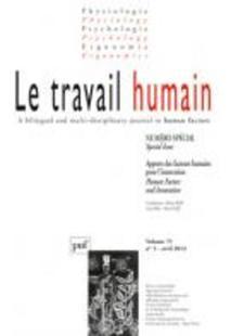 Le Travail Humain 2012/3