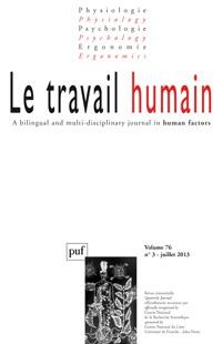 Le Travail humain 2013/3