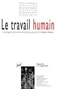 Le travail humain 2015/3